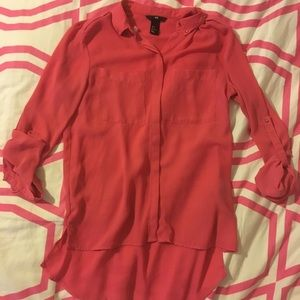 👛 Bright Pink Blouse 👛